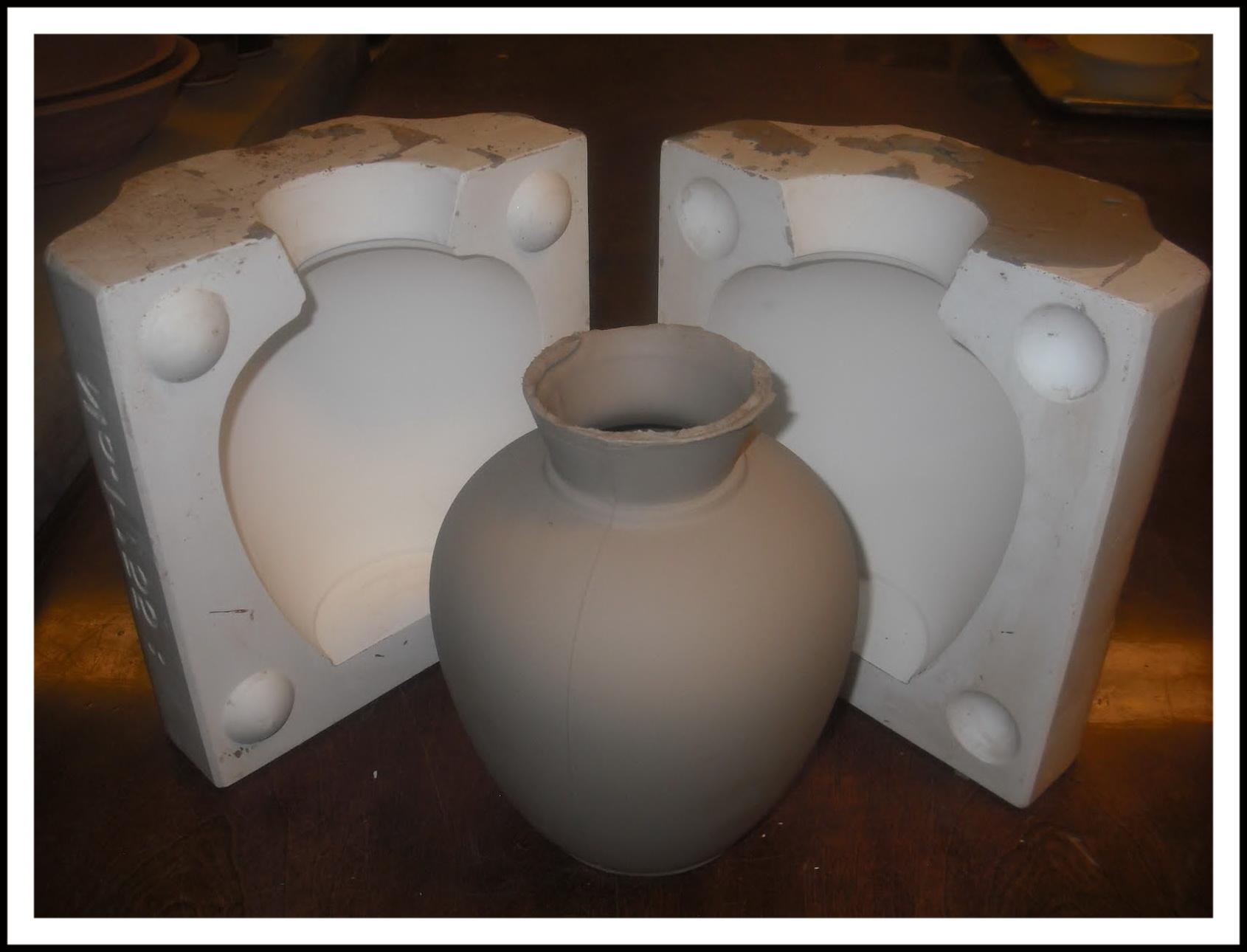формование изделия из фарфора