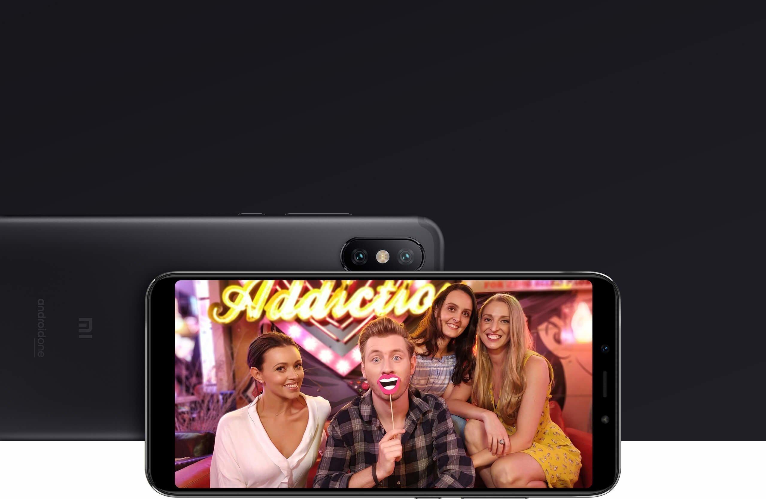 Смартфон Xiaomi Mi A2 4GB + 64GB (черный)