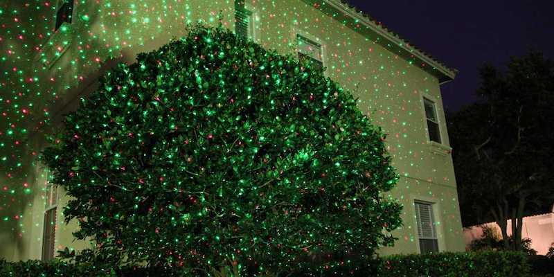 Star Shower Laser Light – лазерный проектор «Звездный дождь»