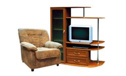 Мягкая мебель и корпусная мебель для гостиной