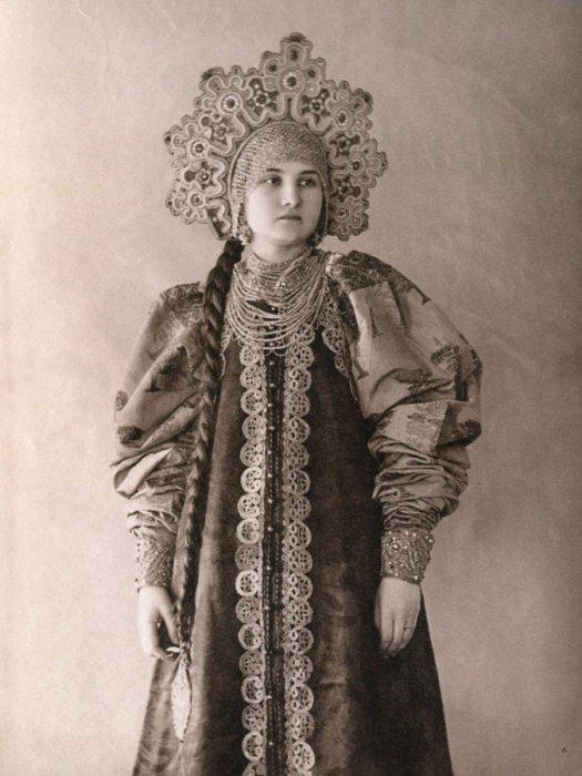 фото кокошника русской красавицы