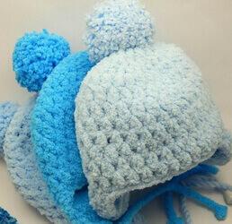 Детские шапки из пряжи Софти