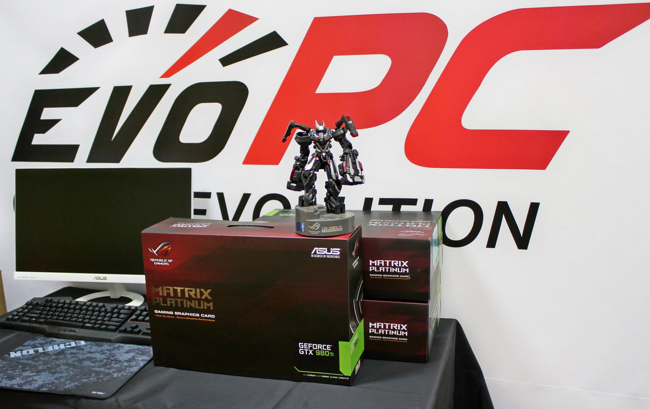 ASUS ROG Matrix GTX 980 Ti Platinum Edition