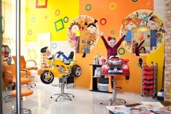 Салон  красоты  для детей