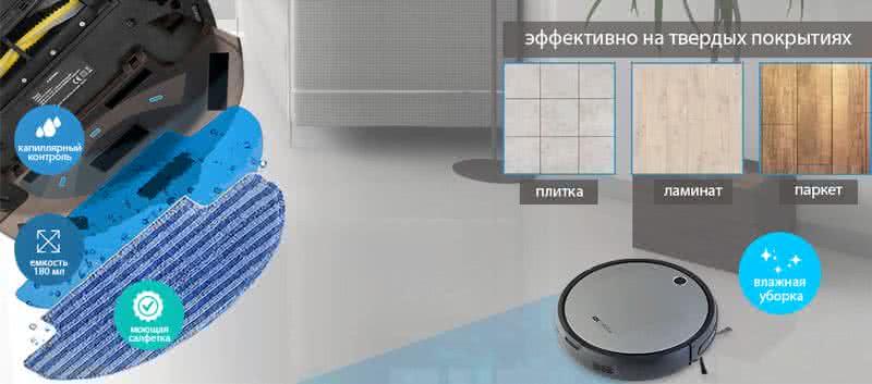 Моющая панель для робота пылесоса Foxcleaner Air