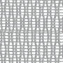 Сетчатая ткань с арамидным волокном, цвет белый с  подлокотниками и подголовником «Белый лебедь»