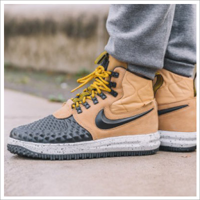 Nike Men's Lunar Force 1 Duckboot Beige/Black