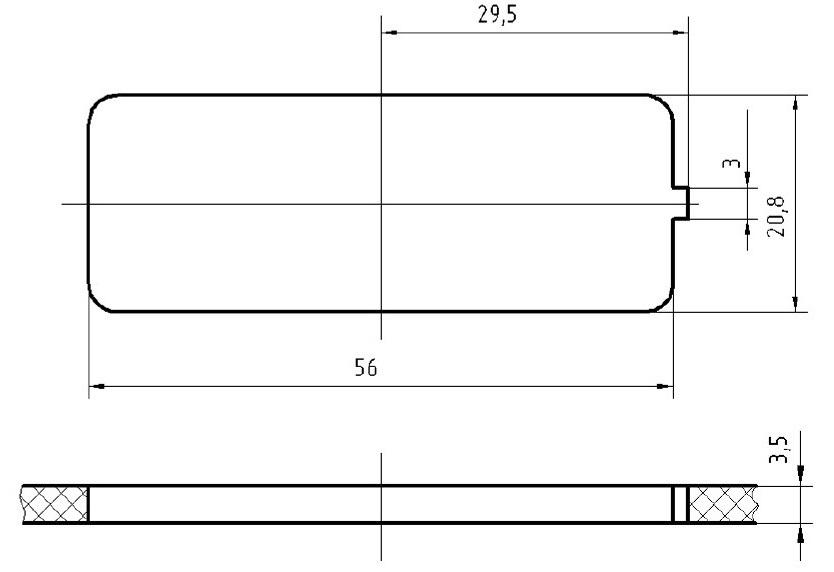 Место установки переключателя стеклоподъемника АВАР 921.3709