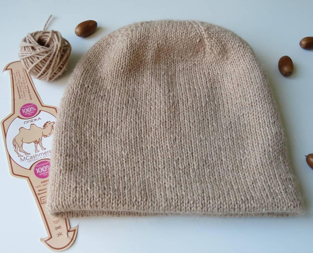 шапка из верблюжьего пуха sarlag