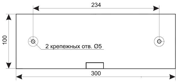 Установочные размеры для Схема подключения для оповещателя комбинированного светозвукового -IP55 ЛЮКС-12-К-НИ / ЛЮКС-24-К-НИ