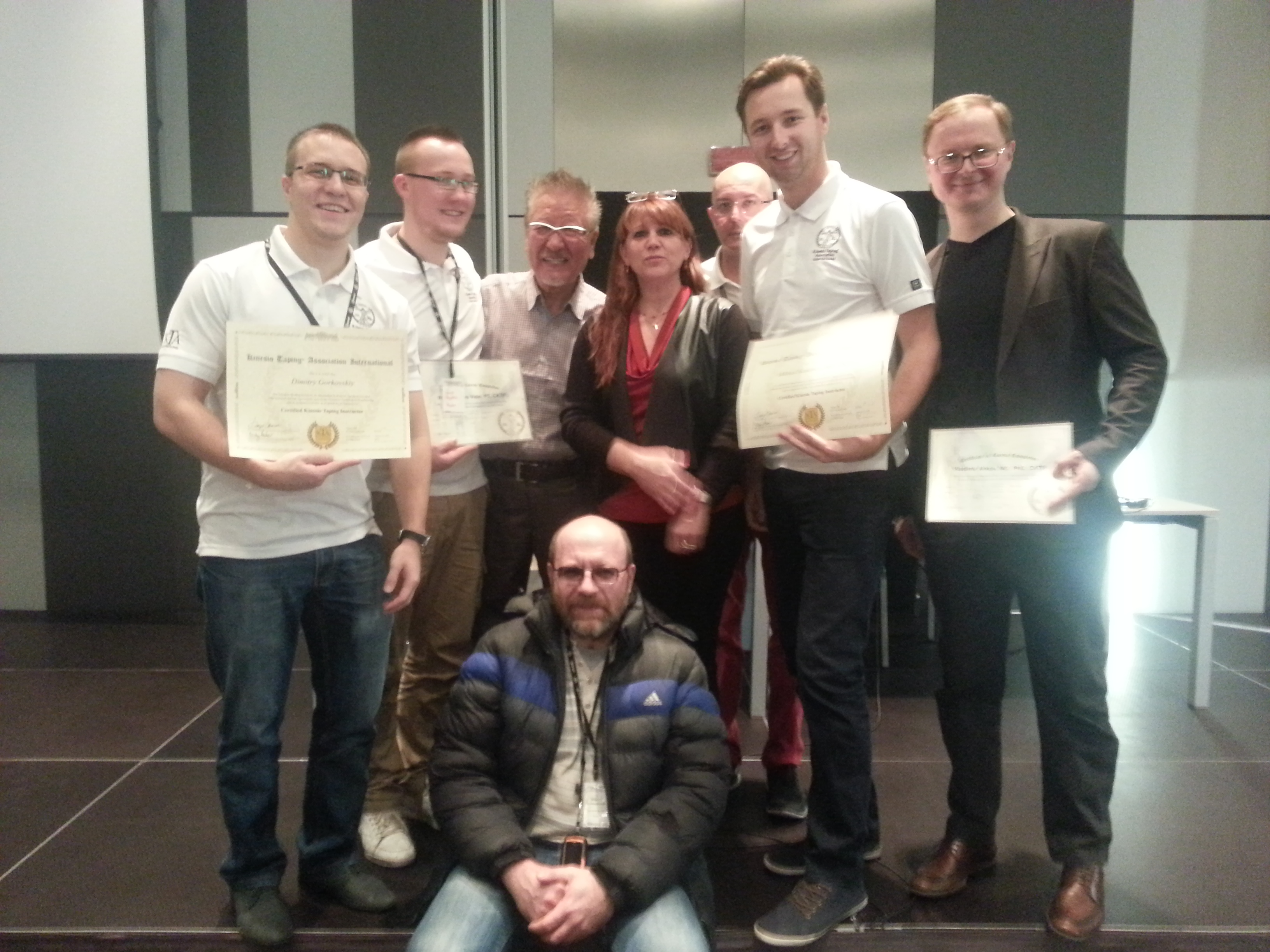 Теперь в России и Беларуси работают 5 инструкторов Kinesio