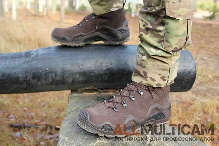 Обзор тактических ботинок Z-8S Lowa