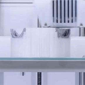 процесс печати на 3д принтере