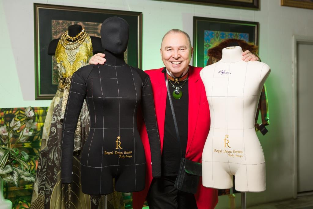 Вячеслав Зайцев и мягкий манекен для шитья Моника от Royal Dress forms