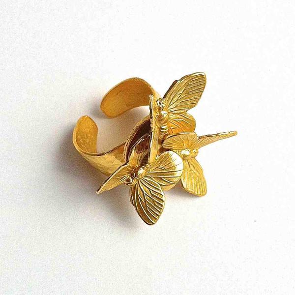 Купите кольцо с бабочками от Susana Espiauba
