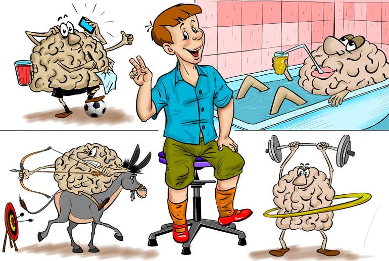 Как влияет Танцующий Стул на активность головного мозга?
