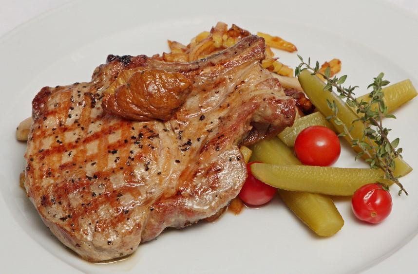 свинина на кости картошкой рецепт с фото