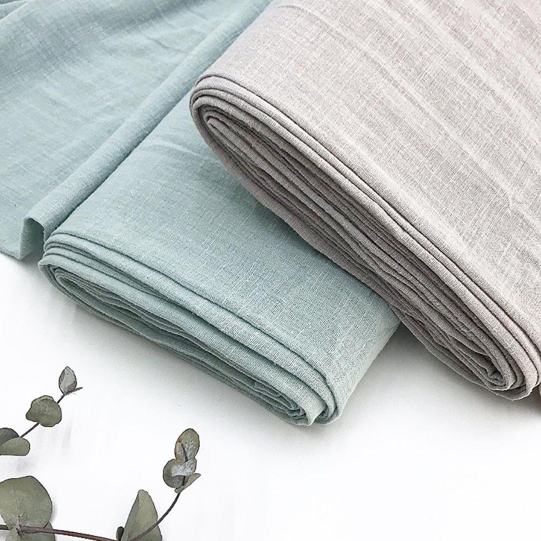 Купить ткань лен для пошива одежды