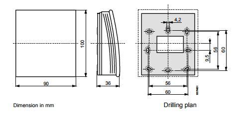 Размеры Siemens QFA2071