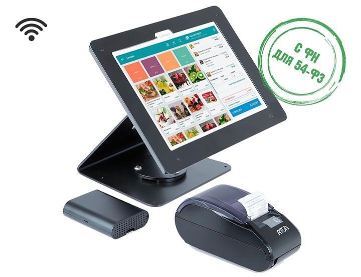 Через Wi-Fi можно подключить к онлайн-кассе планшет и смартфон