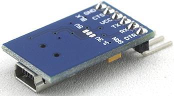 Модуль RC019. Модуль преобразователя интерфейсов miniUSB в TTL на базе микросхемы FT232RL
