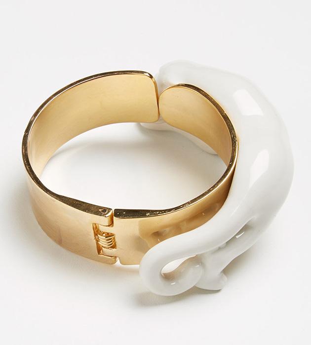 качественная бижутерия ручной работы Panther white от испанского бренда ANDRES GALLARDO