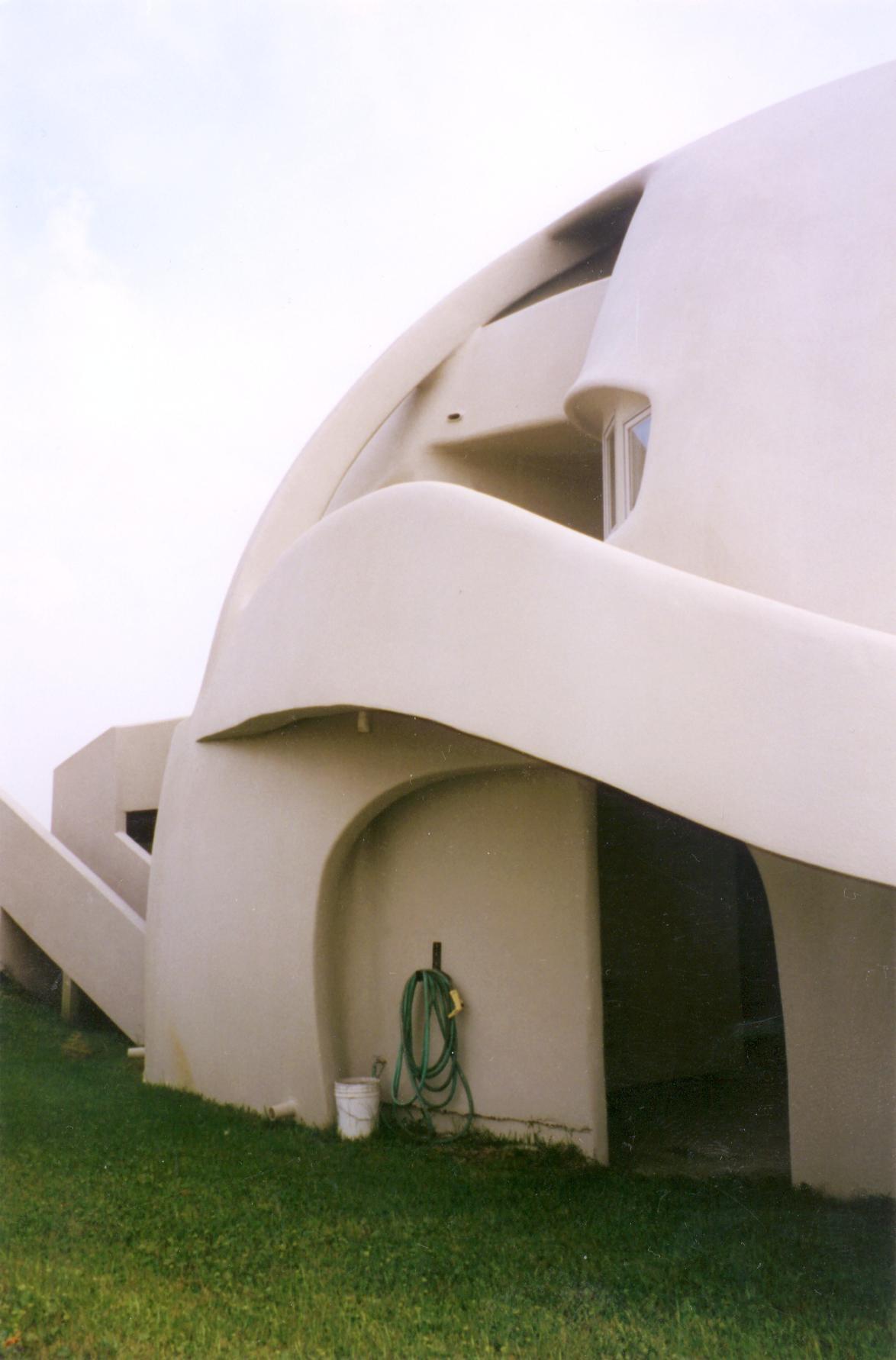 фрагмент купольного дома