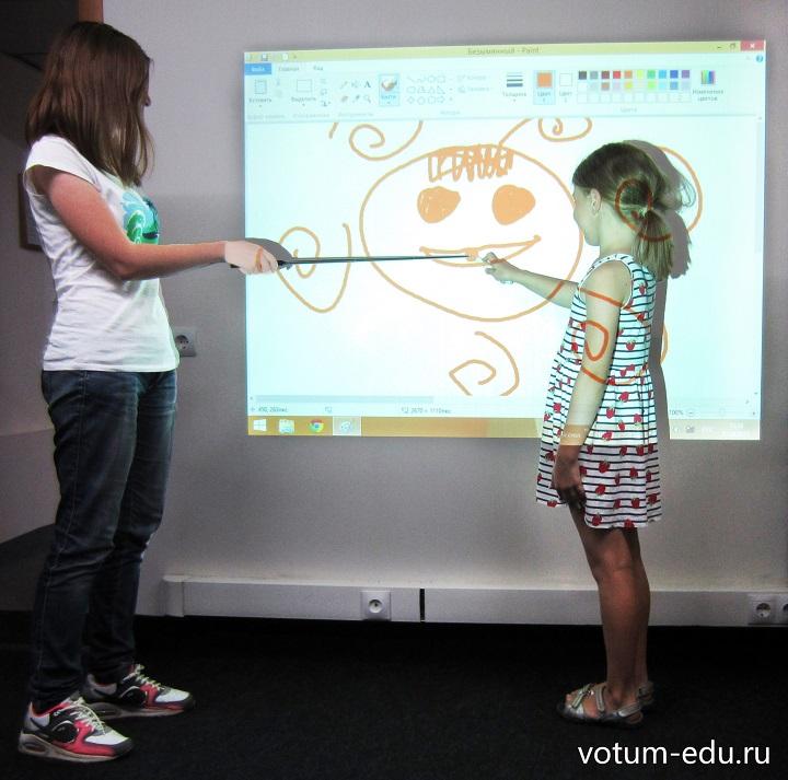 Интерактивная приставка Вотум Votum ir-board