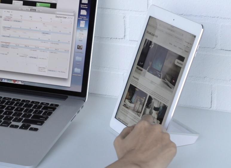 Bluelounge Casa White (CS-WH) - Универсальная подставка-держатель для смартфонов и планшетов.