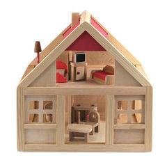 Кукольные домики деревянные с мебелью, деревянный кукольный дом,купить деревянный кукольный домик
