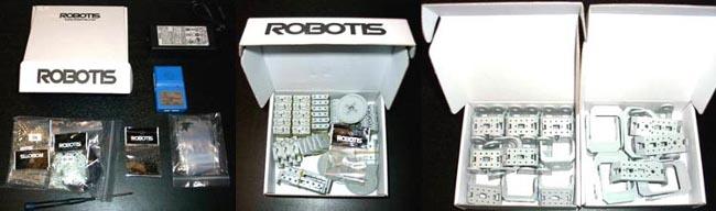 Содержимое набора BIOLOID Robotis Premium