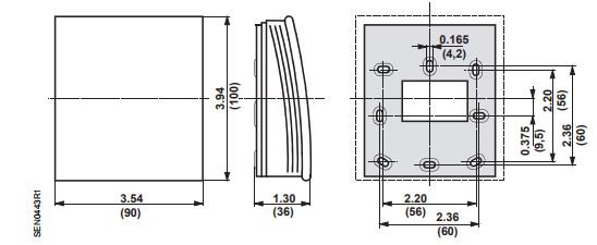 Размеры Siemens QPA2080