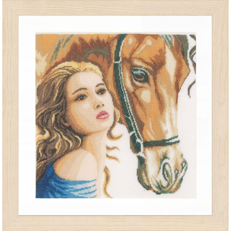 Новинка lanarte 2016, девушка с конем