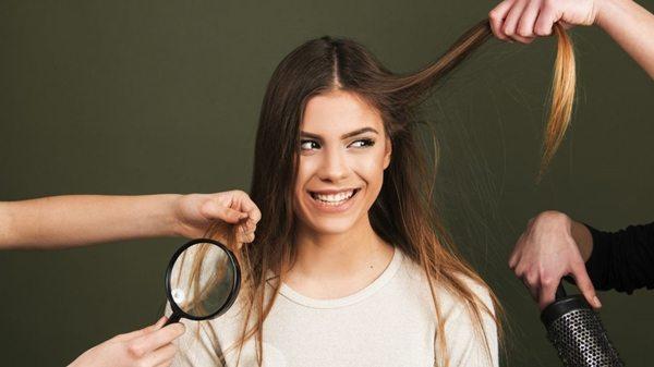 статика на волосах