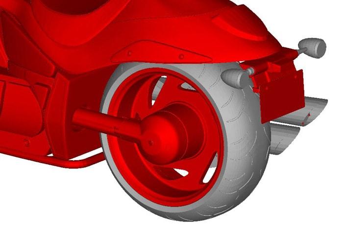 Разработка прототипа Suzuki M109R Boulevard