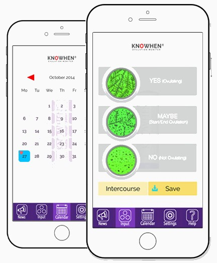 Мобильное приложение теста для овуляции Knowhen