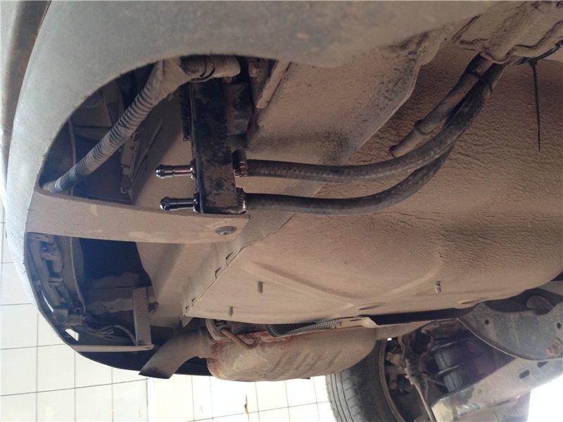 форд мондео с пневмобаллонами