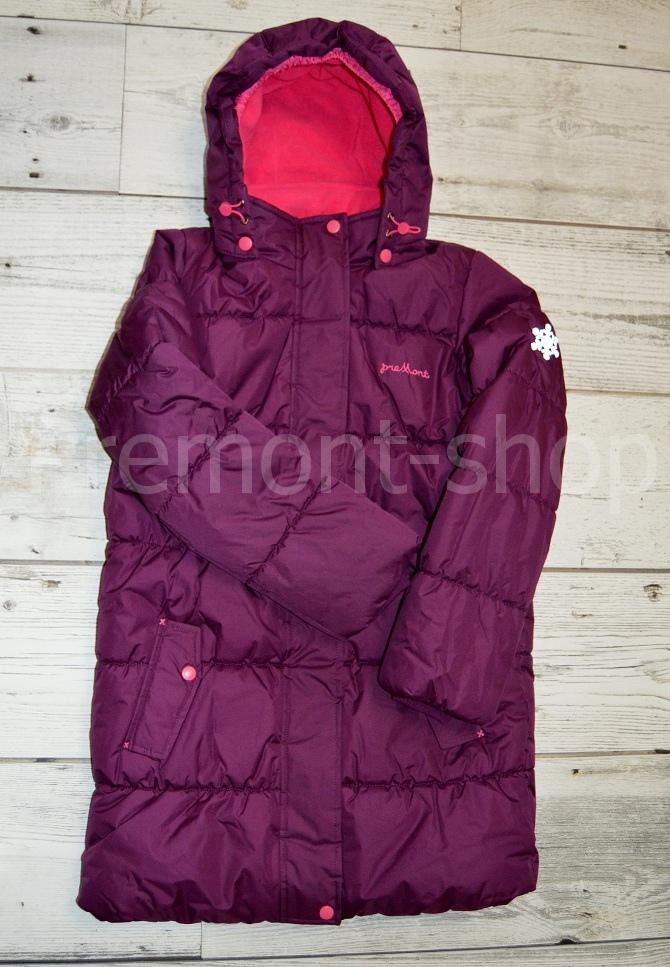 Пальто Premont Ягодный смузи, вид спреди