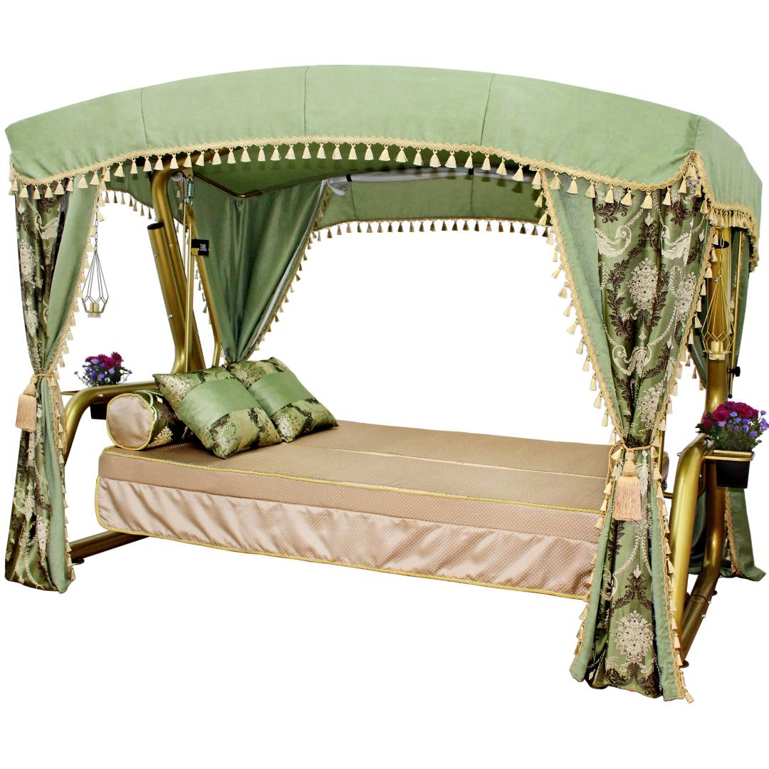 Княгиня зеленые кровать
