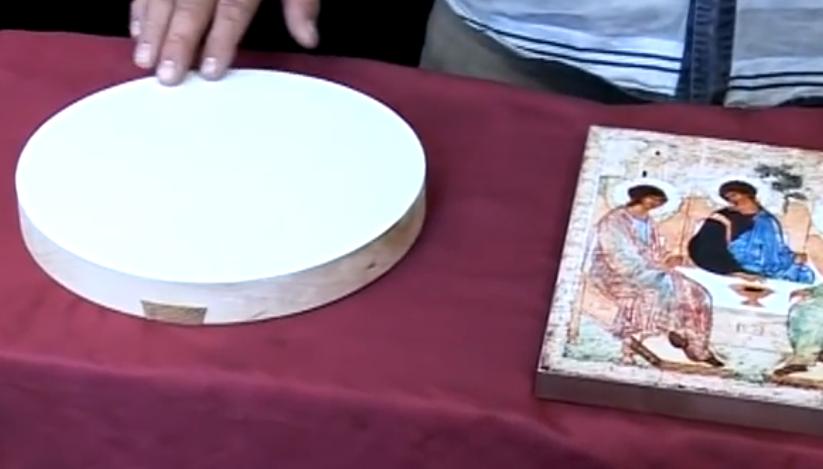 иконы на левкасе от мастерской Иконный дом