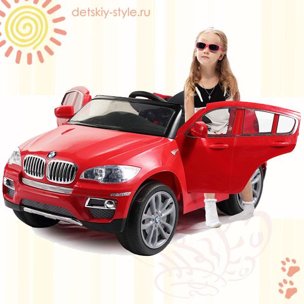 электромобиль bmw x6, оригинал, купить, цена, лицензия, отзывы, электромобиль bmw x6 детский, гарантия, заказать, онлайн, доставка по россии, официальный дилер, интернет магазин, detskiy-style.ru