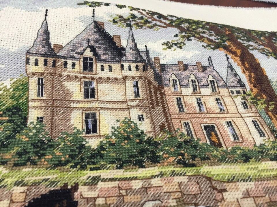 Набор для вышивания. M'Lady's Chateau. Леди Шато. Артикул 3790