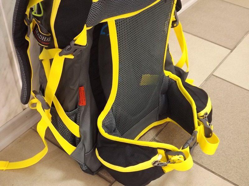 Рюкзак с сеткой на спинке и каркасом