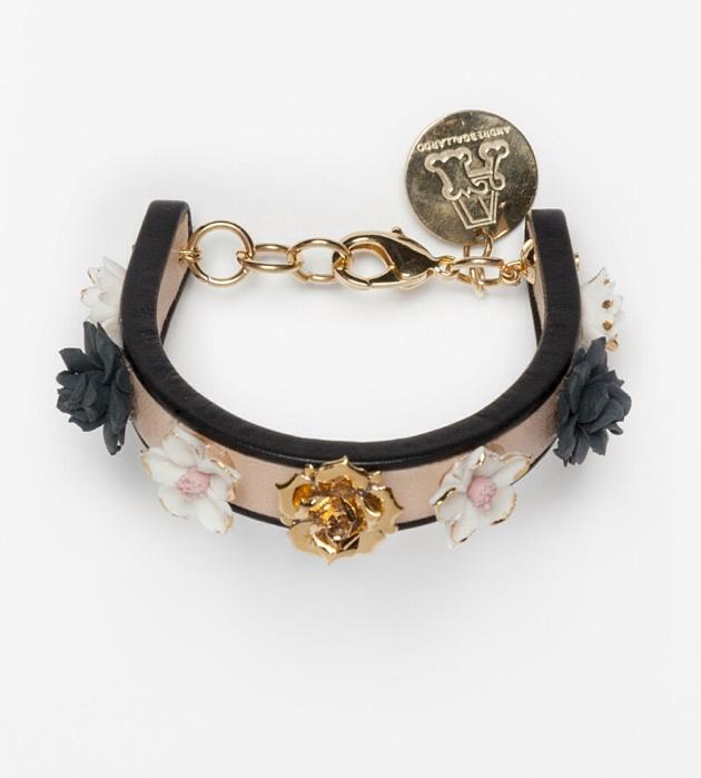 бижутерия из фарфора от ANDRES GALLARDO Flower bracelet