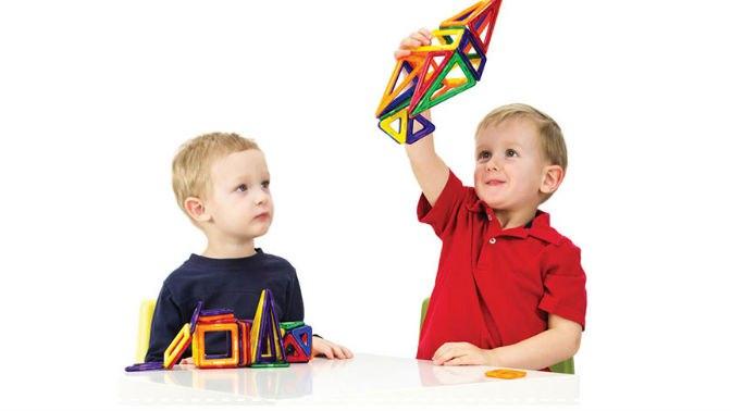 Детский магнитный конструктор Mag Building