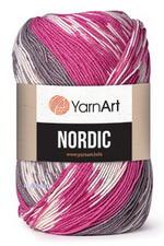 Nordic (Yarnart) - смесовая пряжа принтованной окраски