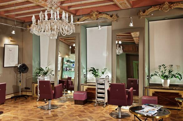 Организация пространства в салоне красоты