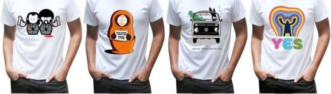 Прямая печать на футболках