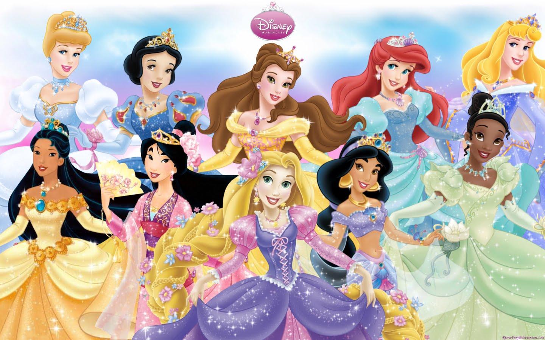 принцессы Диснея в магазине Магия кукол