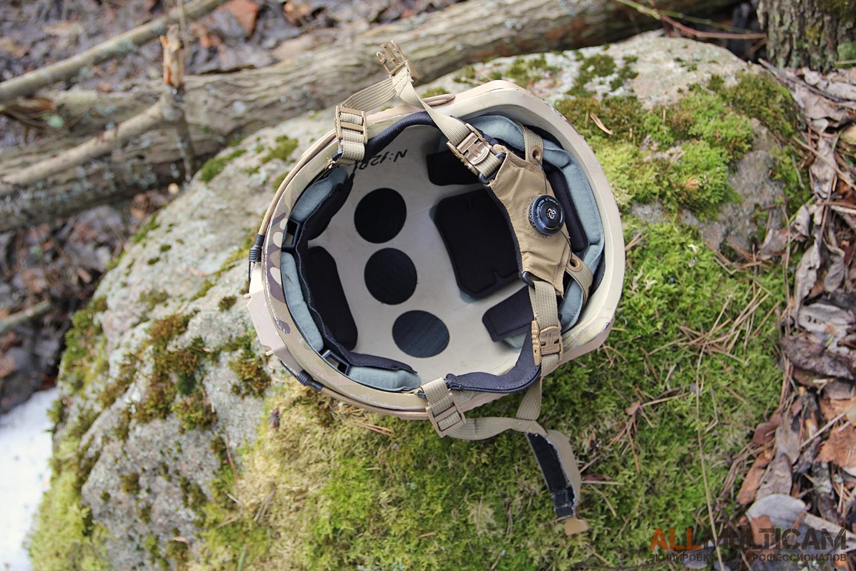 Подтулейное устройство шлема Спартанец